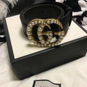 Gucci GG Pearl Belt